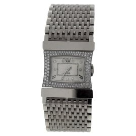 Bedat & Co. No.33 Reverso 18K White Gold with Diamond 22mm Womens Watch