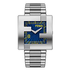Fendi Blue Dial 40mm Dial Watch F132010101