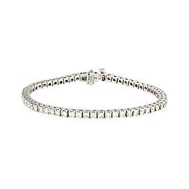 14K White Gold with 2.8ct. Diamond Bracelet