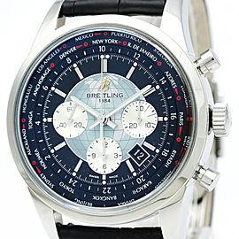 Breitling Transocean AB0510 46mm Mens Watch
