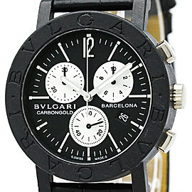 Bulgari Carbon Gold Chronograph BB38CLCH 38mm Unisex Watch