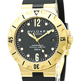 Bulgari Diagono SD38G 38mm Mens Watch