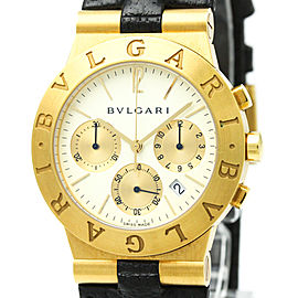 Bulgari Diagono CH35G 35mm Mens Watch