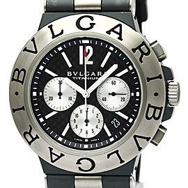 Bulgari Diagono Chronograph Titanium TI44TACH 44mm Mens Watch