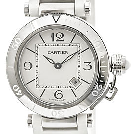 Cartier Pasha Seatimer W3140002 33mm Womens Watch