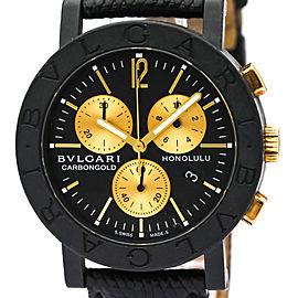 Bulgari Bulgari Bulgari Carbon Gold BB38CLCH 38mm Unisex Watch