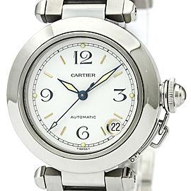 Cartier Pasha W31015M7 35mm Womens Watch