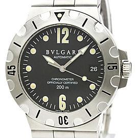 Bulgari Diagono SD38S 38mm Mens Watch