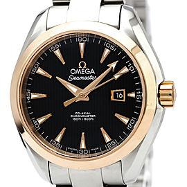 Omega Automatic Seamaster 34mm Womens Watch