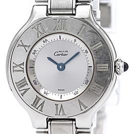 Cartier Must 21 28mm Womens Watch
