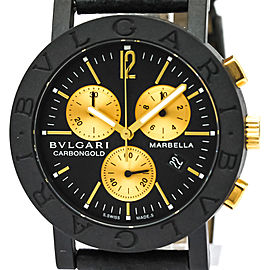 Bulgari Carbon BB38CLCH 38mm Unisex Watch