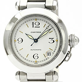 CARTIER Pasha C Steel Automatic Unisex Watch W31015M7