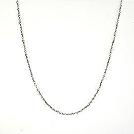 """Platinum Necklace 19.7"""""""