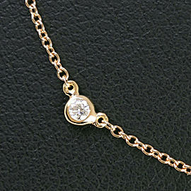 TIFFANY & Co K18 yellow gold/diamond By the yard Necklace