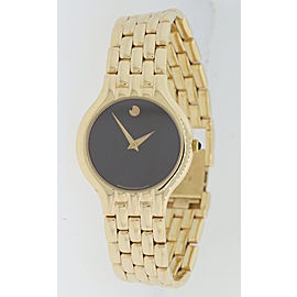 Movado Black Museum 101458 26mm Womens Watch