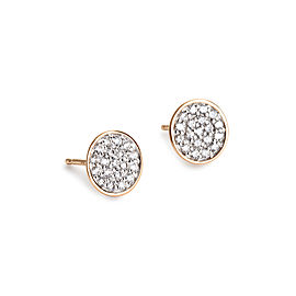 Round Sequin Diamond Studs