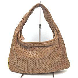 Bottega Veneta Brown Intrecciato Jodie Hobo Bag 863024