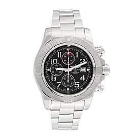 Breitling Super Avenger II A1337111-BC28SS Chronograph Stainless Steel Automatic 48mm Men's Watch