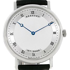 Breguet Classique 5157 18K White Gold Automatic 38mm Mens Watch