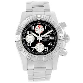 Breitling Aeromarine Super Avenger A13381 Stainless Steel 43mm Automatic Mens Watch