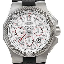 Breitling Bentley GMT EB0433 Titanium & Rubber Automatic 45mm Mens Watch