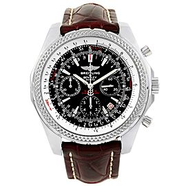 Breitling Bentley Motors A25362 Stainless Steel Black Dial Automatic 49mm Mens Watch