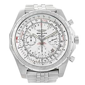 Breitling Bentley Motors T A25363 Stainless Steel Automatic 48.7mm Mens Watch
