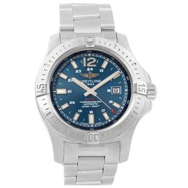 Breitling Colt A17388 Stainless Steel Blue Dial Automatic 44mm Mens Watch