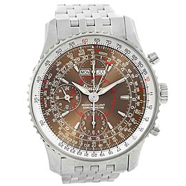 Breitling Navitimer Montbrillant Datora A21330 Stainless Steel 43mm Mens Watch