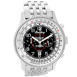Breitling Navitimer Montbrillant A35330 Stainless Steel Automatic 41.5mm Mens Watch