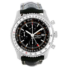 Breitling Navitimer World Chronograph GMT A24322 46mm Mens Watch