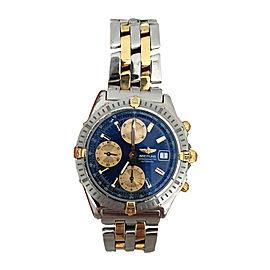 Breitling Chronomat B13352 18K Gold & Stainless Steel 40mm Mens Watch