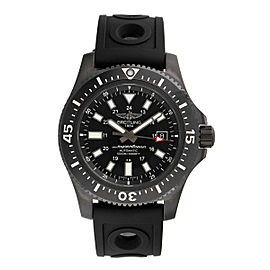 Breitling Superocean M1739313-BE92BKORT Black Stainless Steel Automatic 44mm Men's Watch