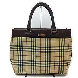 Burberry Nova Check Tote Bag 862270