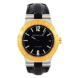Bulgari Diagono 18K Yellow Gold & Stainless Steel 36mm Watch