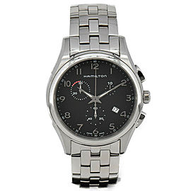 HAMILTON Jazzmaster THINLINE Chronograph H38612133 Quartz Men's Watch #HK-310