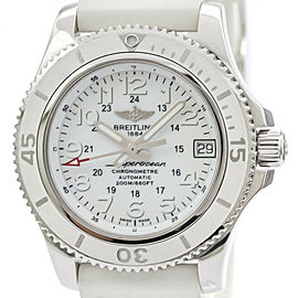 Polished BREITLING Super Ocean ll Steel Automatic Ladies Watch A17312