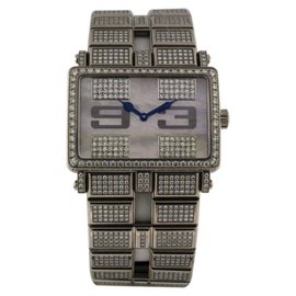Roger Dubuis TooMuch 18K White Gold 37mm Womens Watch