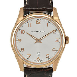 HAMILTON Jazzmaster Thinline H385410 Silver Dial Date Quartz Men's Watch