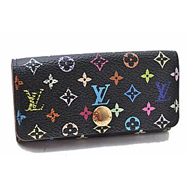 Louis Vuitton Monogram Multicolor Multicles 4 Four Hooks Key Case