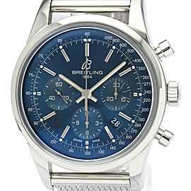 Polished BREITLING Transocean Chronograph LTD Edition Mens Watch AB0151