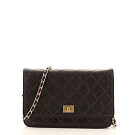 Chanel Reissue 2.55 Wallet on Chain Quilted Aged Calfskin