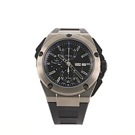 IWC Schaffhausen Ingenieur Double Chronograph Automatic Watch Titanium and Rubber 45