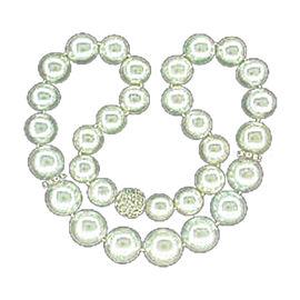 South Sea Pearl & Diamond Necklace