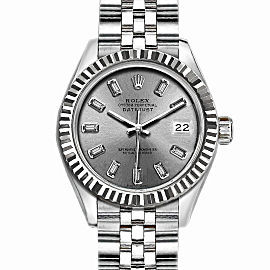 Rolex Datejust Stainless Steel with Silver Dial 36mm Mens Watch