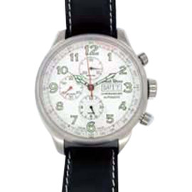 "Ernst Benz ""Chronoscope"" Chronograph Stainless Steel Mens Watch"
