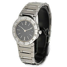 BVLGARI Bulgari Bulgari BB26SSD Date black Dial Quartz Ladies Watch