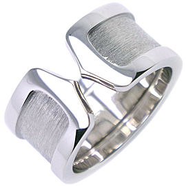 CARTIER 18k white gold LM C2 Ring