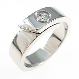 Cartier 18K White Gold anniversary ring TkM-191