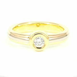 Cartier 18K Rose Gold/18K Yellow Gold/18K White Gold, Diamonds Trinity Three Ring CHAT-210